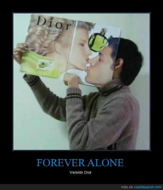 alone,beso,dior,forever,mujer,revista