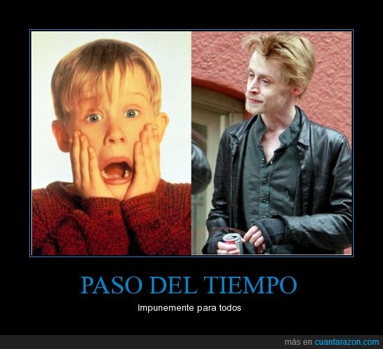 macaulay culkin,mayor,niño,Solo en casa
