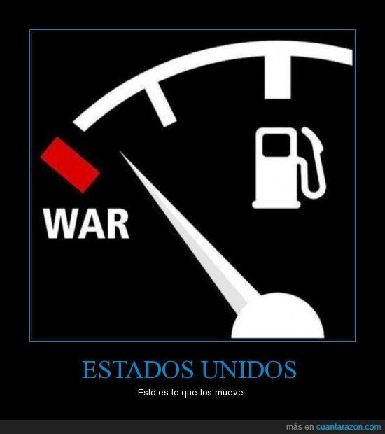 estados unidos,gasolina,guerra,petroleo