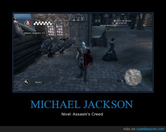 Assasins,Creed,Gravity,Michael Jackson
