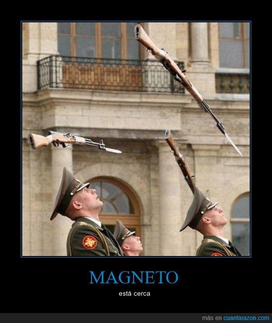 aire,dios,flotar,magneto,pistolas,volar,xmen
