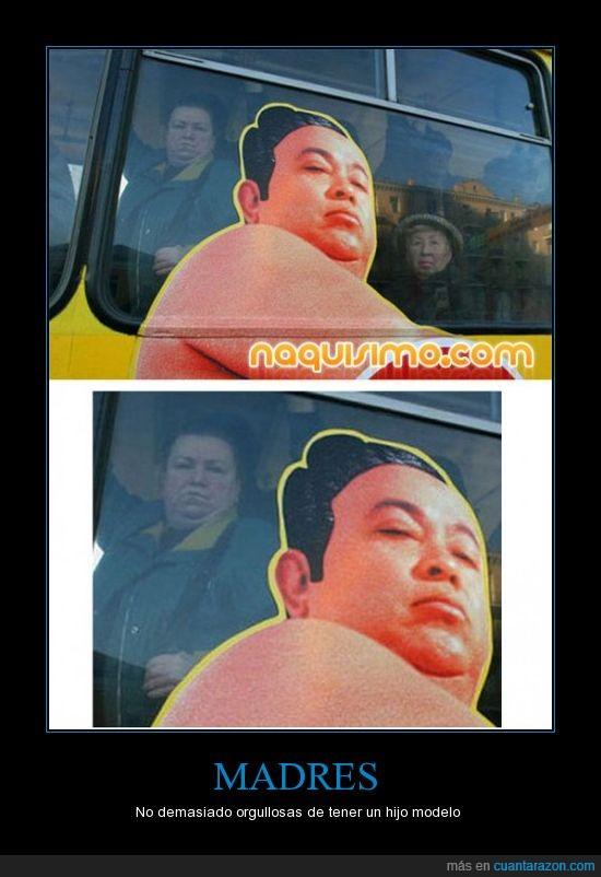 autobus,publicidad,sumo,vieja