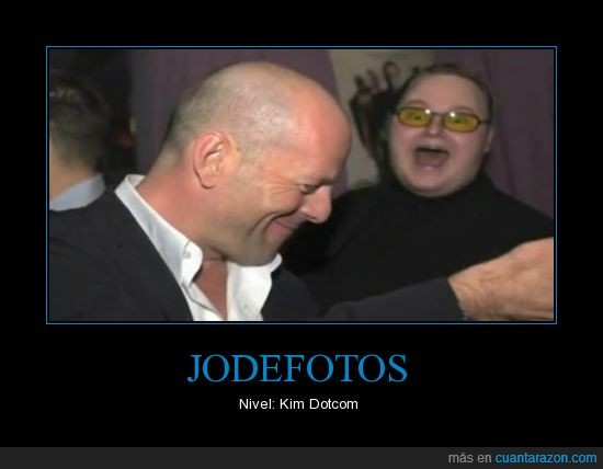 Bruce Willis,creador,dotcom,jodefotos,kim,megaupload,mira un famoso