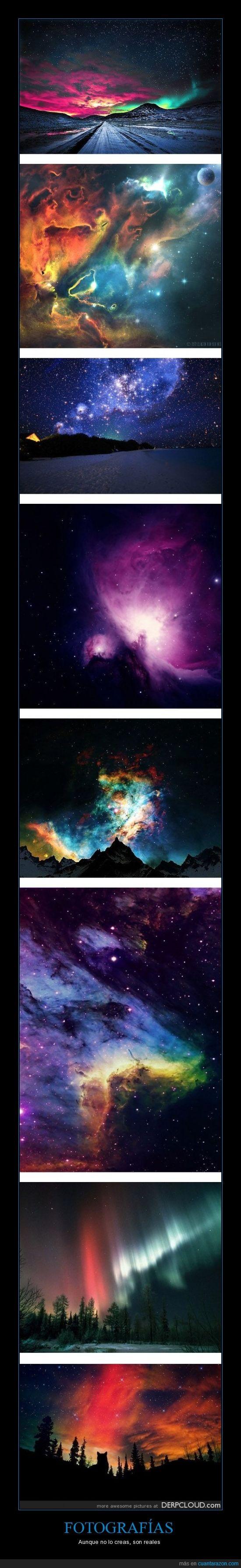 cielo,colores,estrellas,foto,impresionantes