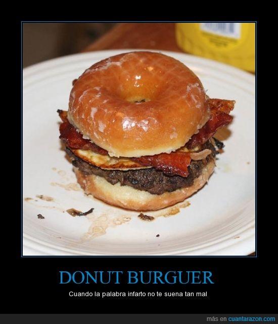 americanos,bacon,Burguer,Donut,hamburguesa,infarto