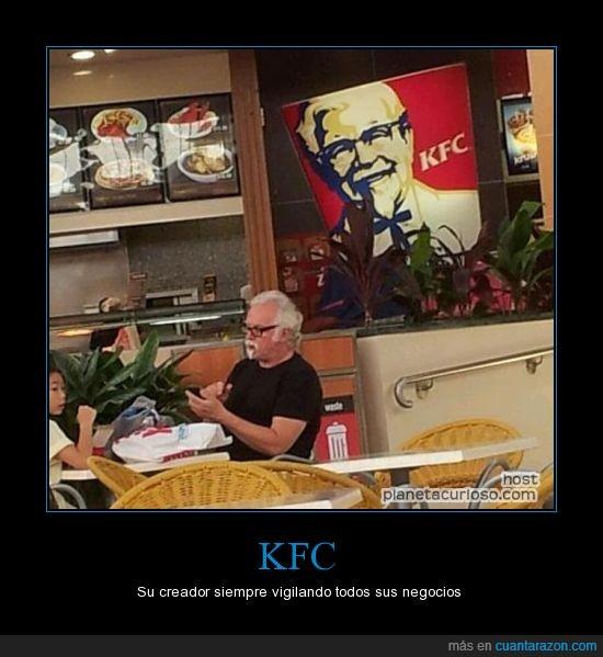 coronel sandler,frito,kfc,pollo