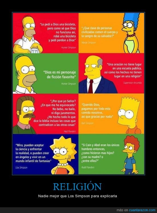bart,flanders,homer,lisa,marge,religion,simpsons