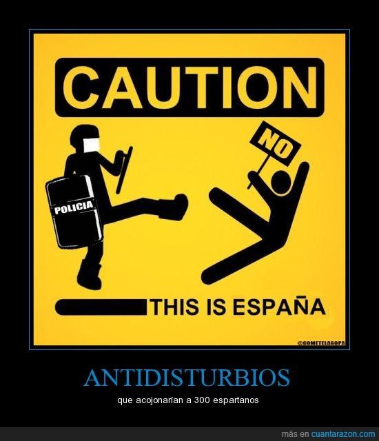 antidisturbios,esparta,photoshop,policia,primavera valenciana,valencia