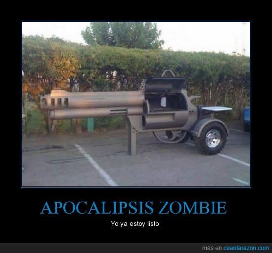 apocalipsis,Pistola,tanque,zombie