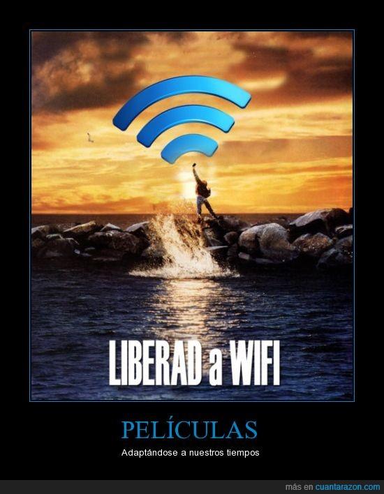 cartel,liberad,orca,película,wifi,willy