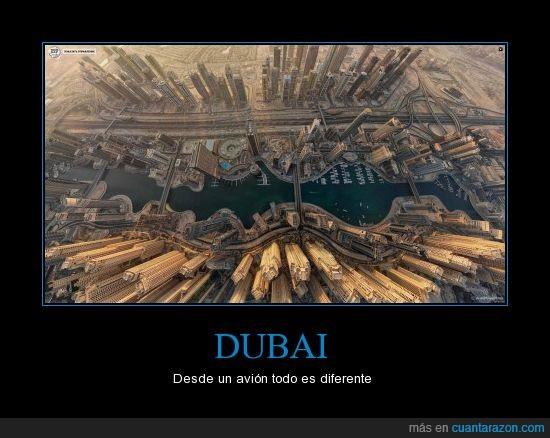 agua,aire,avión,barcos,carretera,dubai,edificio,parece un mapa de un videojuego