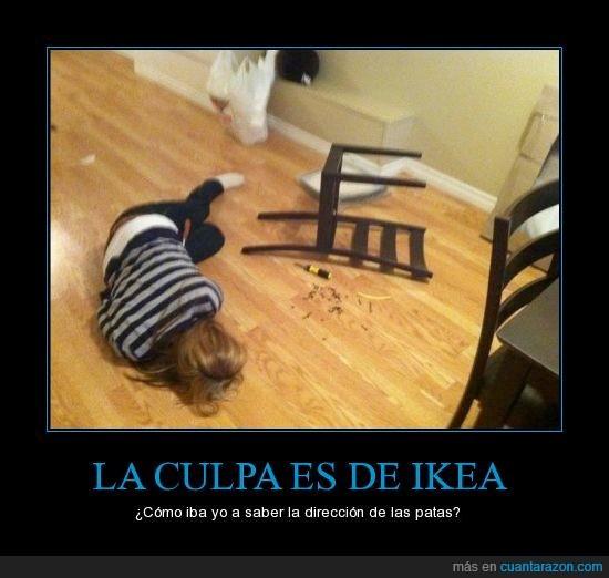 dirección,fail,Ikea,mueble,patas,revés,silla