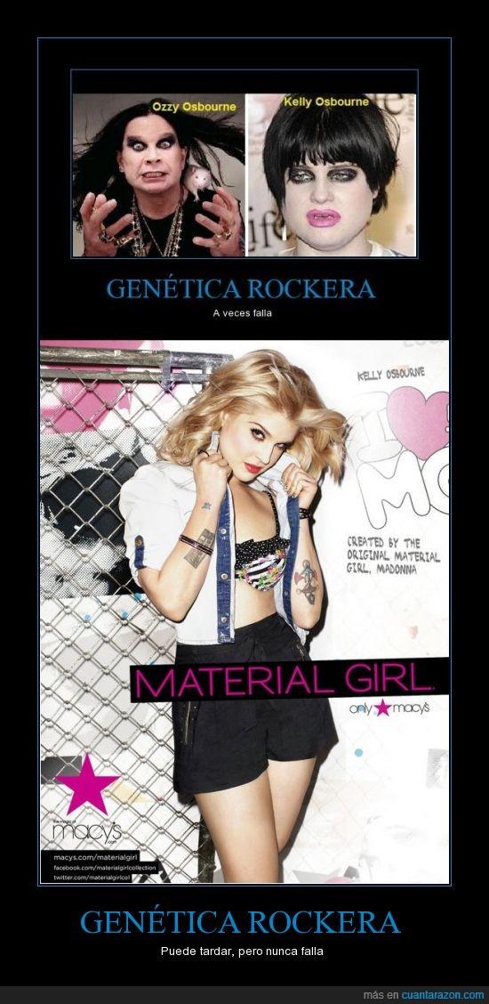 chica,genetica,kelly osbourne,rock