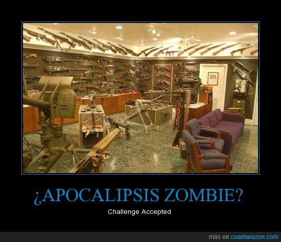 apocalipsis,armas,munición,zombie