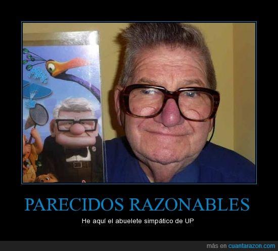 abuelo,parecido razonable,pixar,semejanza,up