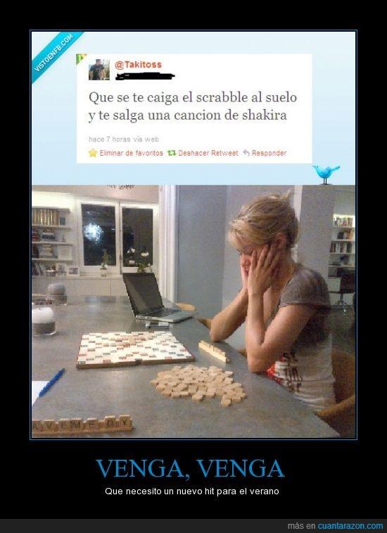 canción,música,Piqué,Scrabble,Shakira