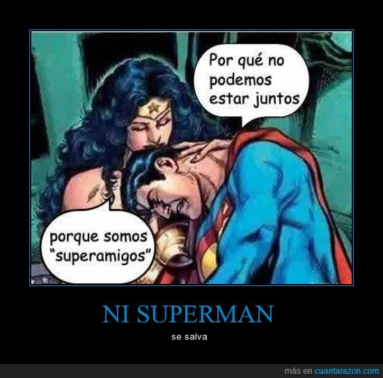 amistad,chica,maravilla,mujer,salvar,solo,superman