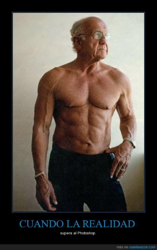 abuelo,fuerte,musculos,no,pantalon,photoshop