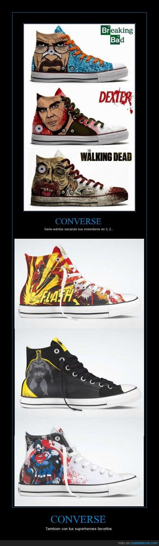 converse,superheroes,zapatillas