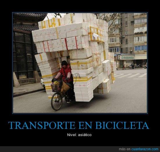 bicicleta,carga,cargar,loco,taiwan