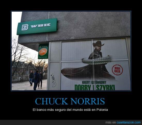 banco,Chuck Norris,Polonia
