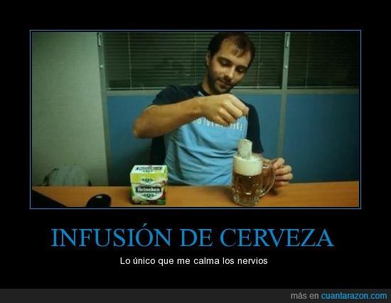birra,cerveza,heineken,infusión,tila