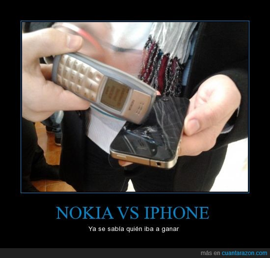 era de esperar,fail,iPhone,Nokia,romper