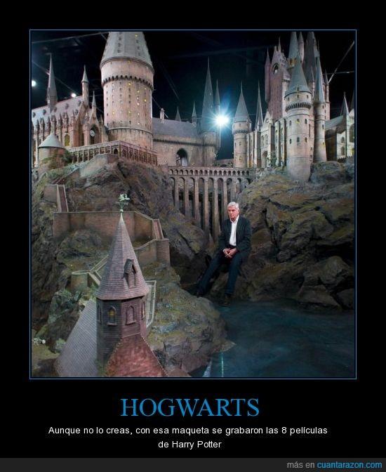 Harry Potter,Hogwarts,Maqueta