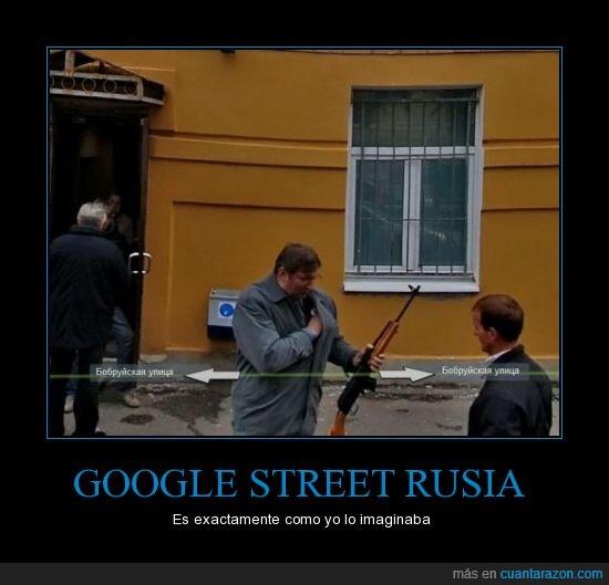 armas,google street view,mafia,Rusia