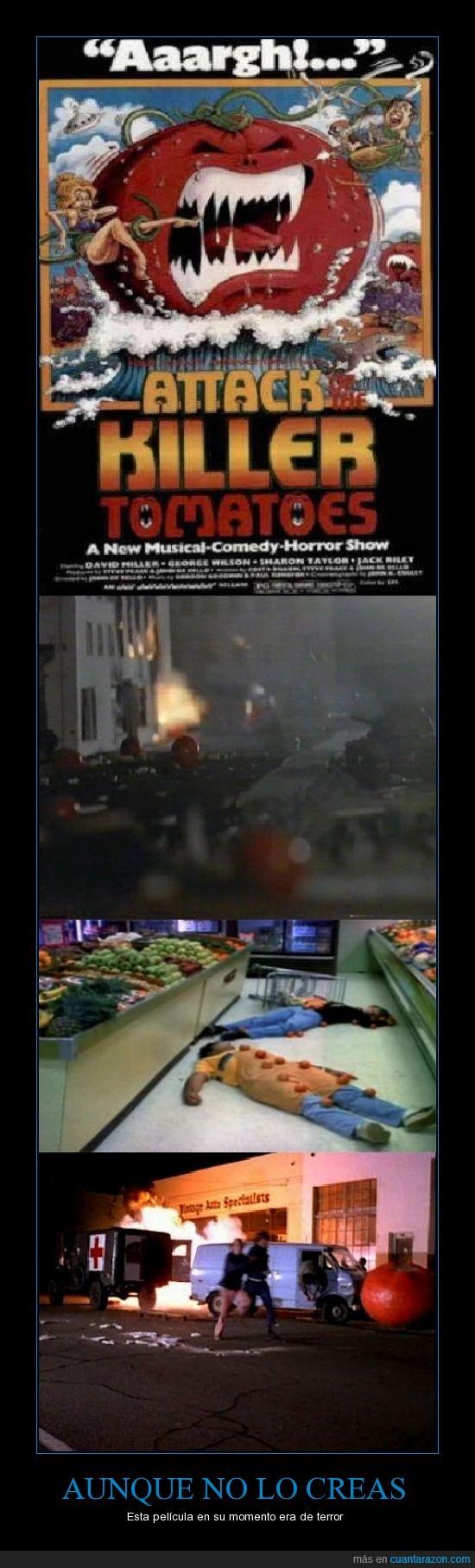 asesinos,el ketchup me da fobia,killer,terror,tomates,tomatoes
