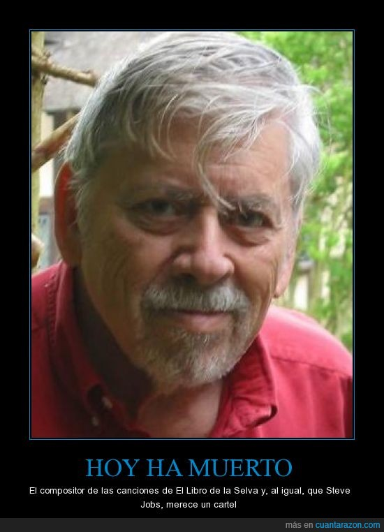 autor,busca lo mas vital,libro,mary poppins,Robert Sherman,selva