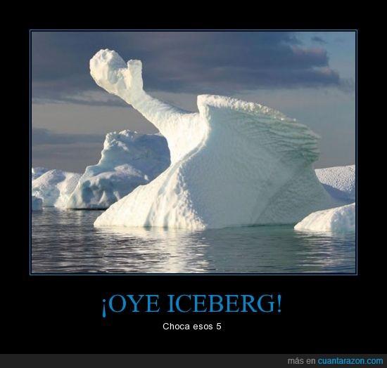 5,chocar,iceberg,mano,titanic
