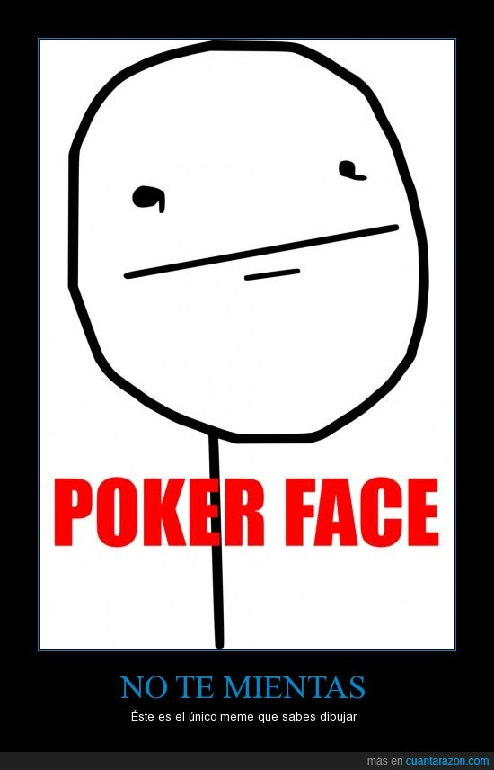 dibujar,face,meme,poker,saber,único