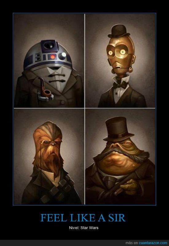 Feel like a Sir,Star Wars