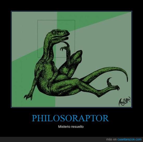 cabeza,cuerpo,dinosaurio,philosoraptor