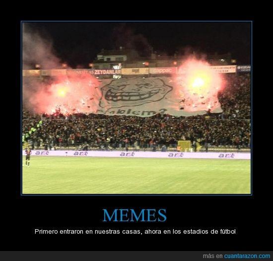 campo,Fútbol,memes,pancarta