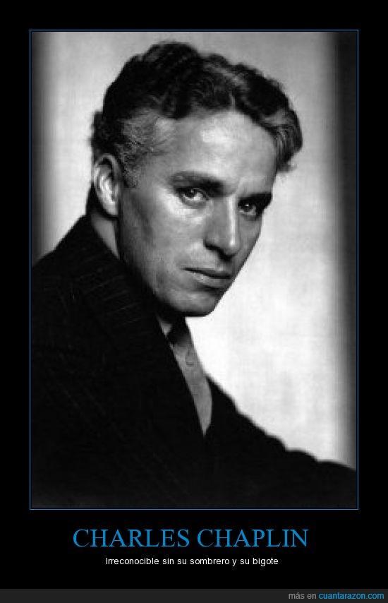 Actor,Charles Chaplin,Cine,Irreconocible
