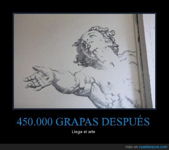 arte,dibujo,grapa,guadro,pared,pintura