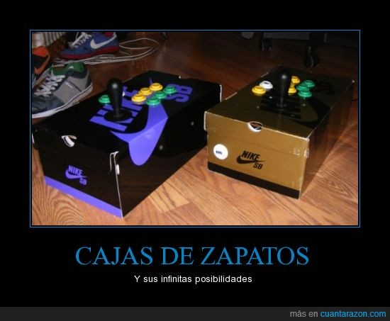 bamba,caja,control,deportiva,joystick,mando,nike,tenis,videojuego,zapato