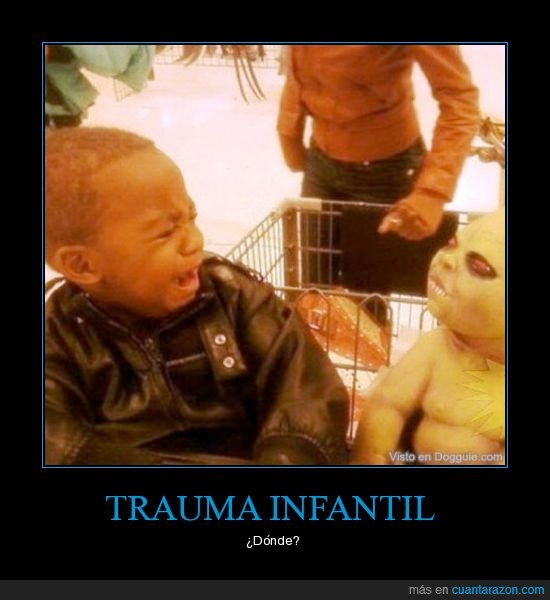 extraterrestre,infantil,niño,trauma