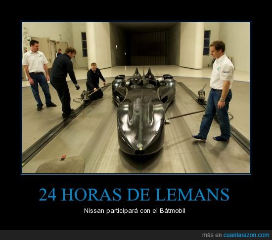 24 horas,barmobile,batman,ingenieros,lemans,nisan