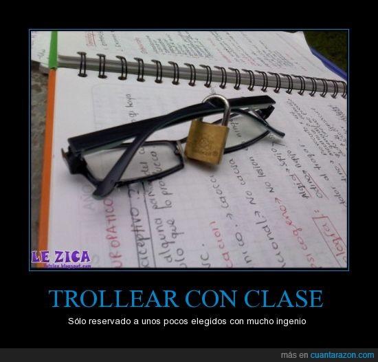 candado,gafas,trollear