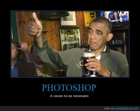 bbc,cerveza,guiness,not bad,obama,photoshop,saint patricks day,san patricio