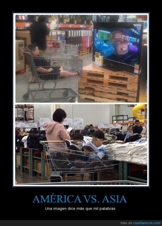asia,cars,chico,chino,deberes,dominarán el mundo,estudiar,japones,leer,niño,ver