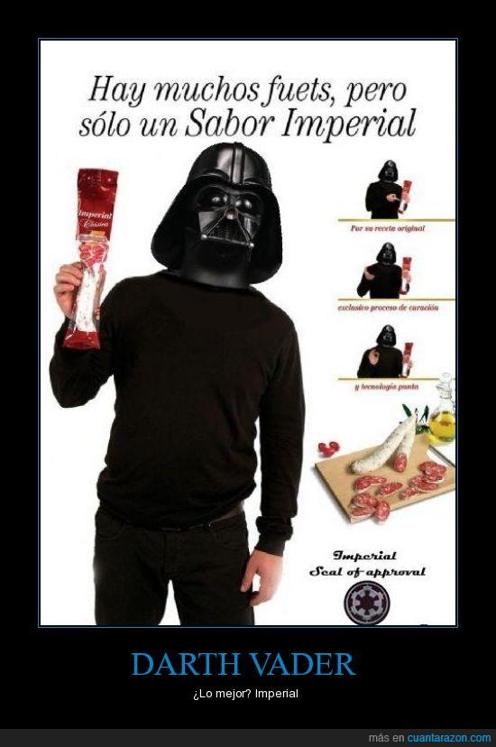 chistaco,darth vader,fuet,imperial,sabor,salchichon,star wars