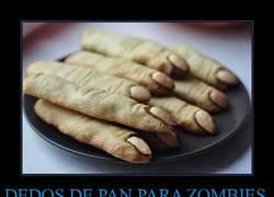 Enlace a DEDOS DE PAN PARA ZOMBIES