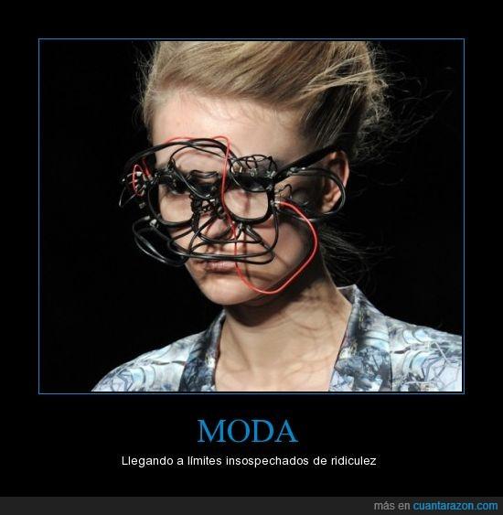 ay como lo vea lady gaga,cables,gafas,moda,ridiculo