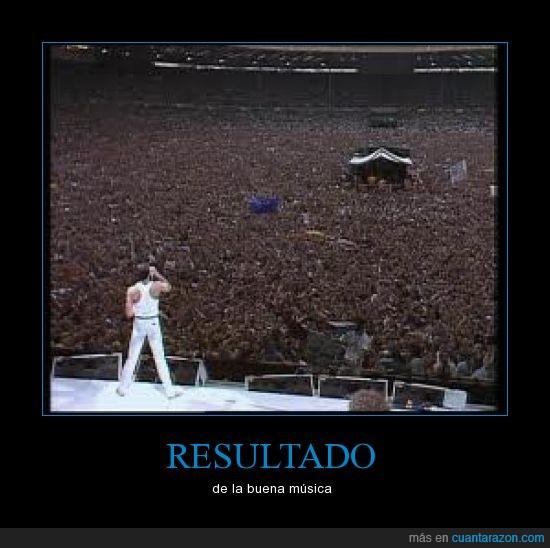 concierto,gente,mucha,musica,queen