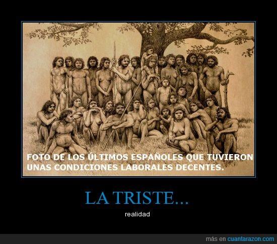 crisis,españoles,neandertales,trabajo