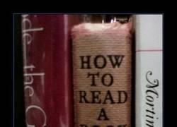 Enlace a CÓMO LEER UN LIBRO